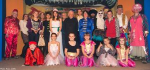 2014 Saxlingham Players Aladdin last night