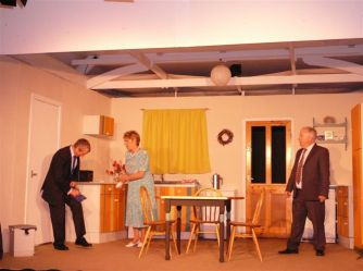Act One - Sidney & Janes kitchen - last Christmas