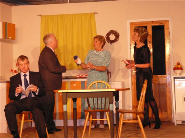 absurd person singular A comedy about class and money by alan ayckbourn meet three couples in their  three kitchens on the christmas eves of three successive.